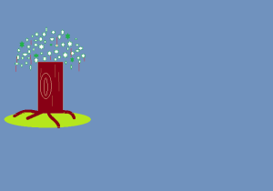 arbres nuit
